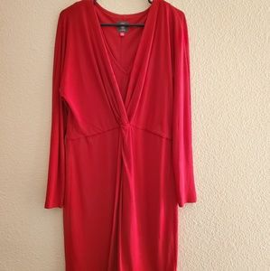 Vince Camuto Red Dress